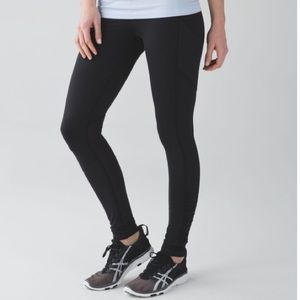 Lululemon Ruched Ankle Speed Tight